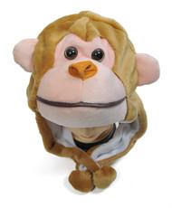 6pc Pre-Pack Animal Plush Hat - Monkey HATC1000