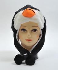 6 Pack Animal Plush Hat - Penguin HATC1110