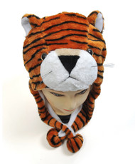 6pc Pre-Pack Animal Plush Hat - Tiger HATC1070