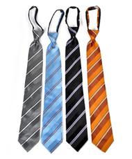 Men's Micro Woven Regular/X-long Zipper Ties - MPWZ4703