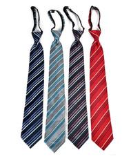 Men's Micro Woven Regular/X-long Zipper Ties - MPWZ4702