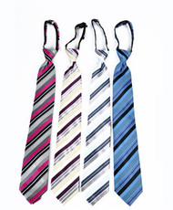 Men's Micro Woven Zipper Ties - MPWZ4705