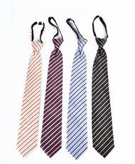 Men's Micro Woven Zipper Ties - MPWZ4706