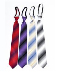 Men's Micro Woven Zipper Ties - MPWZ4708
