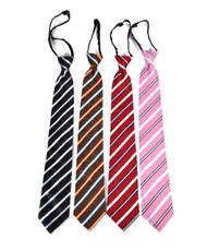 Men's Micro Woven Zipper Ties - MPWZ4709