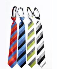 Men's Micro Woven Zipper Ties - MPWZ4712