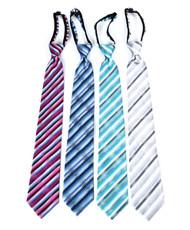 Men's Micro Woven Zipper Ties - MPWZ4713