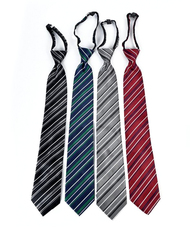 Men's Micro Woven Regular/X-long Zipper Ties