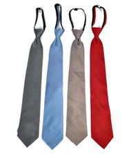 Men's Micro Woven Zipper Ties - MPWZ4720