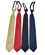 Men's Micro Woven Regular/X-long Zipper Ties - MPWZ4727