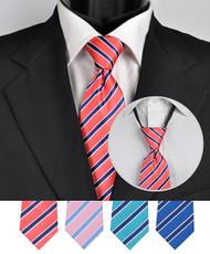 Men's Micro Woven Zipper Ties - MPWZ4604
