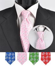 Men's Micro Woven Zipper Ties - MPWZ4606