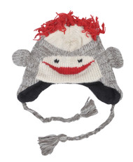 Wool Animal Hats Monkey - AHW1700