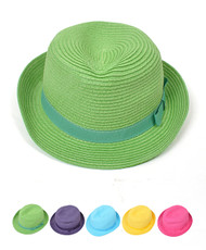 Women's Fedora Hat Solid 6pc H0580