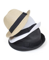 Women's Fedora Hat 6pc H0541