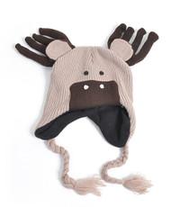 Knit Reindeer Animal Hats - AHN011027
