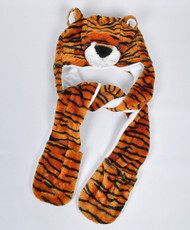 6pc Pre-Pack Animal Hats With Paw - Tiger AHP2005