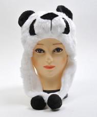 6pc Pre-Pack Animal Plush Hat - Panda HATC1180