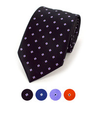 Microfiber Poly Woven Tie MPW5403