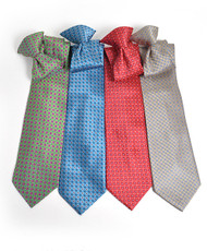 Microfiber Poly Woven Clip-On Tie MPWCL4614