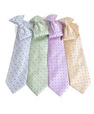 Microfiber Poly Woven Clip-On Tie MPWCL4664