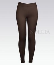 6 Pack Solid Winter Leggings Brown L04235390BR