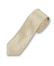 "2.5"" Slim Microfiber Woven Slim Tie MPWS305YW"