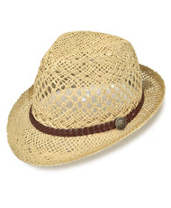 "3pc 2"" Brim Fedora Hat H8706"