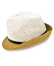 "3 Pc. 2"" Brim Fedora Hat H8701"