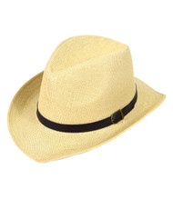 6 Pack Brim Fedora Hats - H9217
