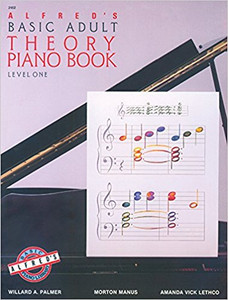 Alfred's Basic Adult Theory Piano Book: Level One