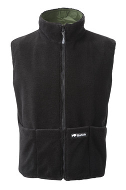 Reversible Body Warmer Black