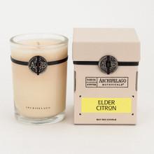 Archipelago Signature Collection Elder Citron Soy Candle