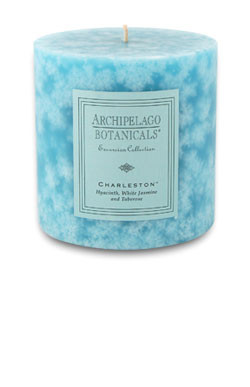 "Archipelago Excursion Collection Charleston 3.50"" x 3.50"" Pillar Candle"