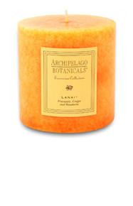 """Archipelago Excursion Collection Lanai 3.50"""" x 3.50"""" Pillar Candle"""