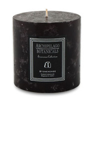 "Archipelago Excursion Collection Stonehenge 3.50"" x 3.50"" Pillar Candle"