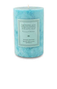 "Archipelago Excursion Collection Charleston 4"" x 6"" Pillar Candle"