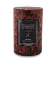 "Archipelago Excursion Collection Havana 4"" x 6"" Pillar Candle"