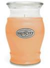 Salt City Tahitian Mango 16 Oz. Glass Jar Candle