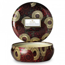 Voluspa Japonica Collection Goji & Tarocco Orange Limited Edition Three Wick Tin Candle