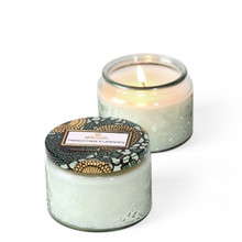 Voluspa Japonica Collection French Cade & Lavender Limited Edition Small Glass Jar Candle