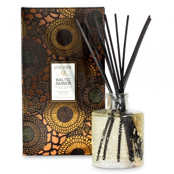 Voluspa Japonica Collection Baltic Amber Limited Edition Home Ambience Diffuser