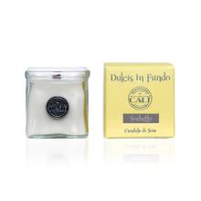 Cali Baronessa Dulcis In Fundo Sorbetto Glass Cube Candle