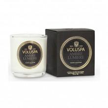 Voluspa Maison Noir Collection Ambre Lumiere Classic Boxed Votive Candle