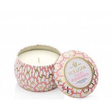 Voluspa Maison Blanc Collection Saijo Persimmon Travel Tin Candle