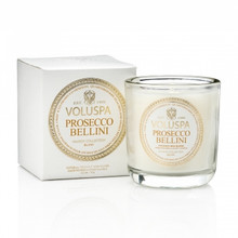Voluspa Maison Blanc Collection Prosecco Bellini Classic Boxed Votive Candle