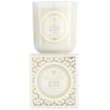 Voluspa Maison Blanc Collection Suede Blanc Classic Maison Candle