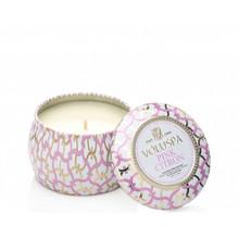 Voluspa Maison Blanc Collection Pink Citron Travel Tin Candle