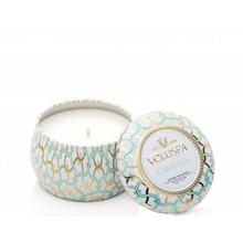 Voluspa Maison Blanc Collection Laguna Travel Tin Candle