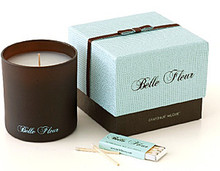 Belle Fleur Grapefruit Muguet Scented Glass Candle